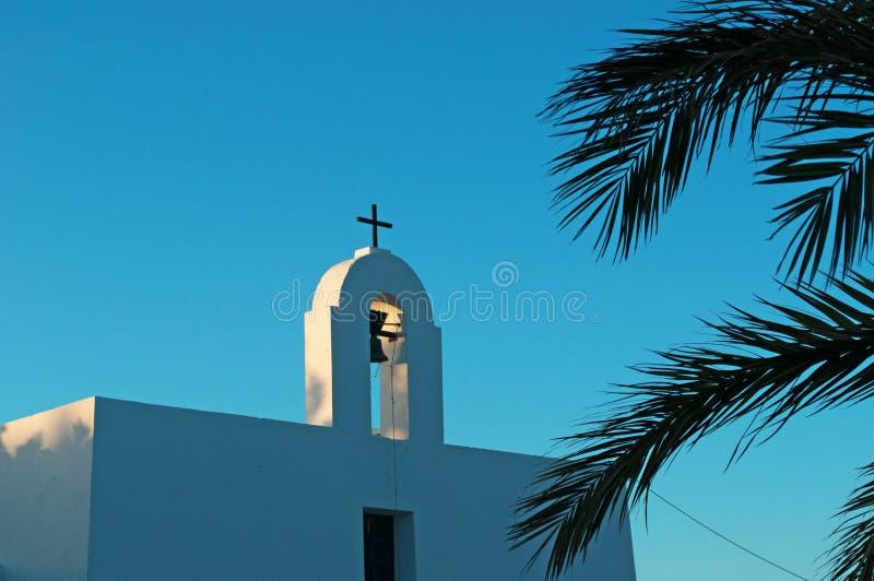 Formentera, Balearic Islands, Spain, Europe, church, Pilar de la Mola, cross royalty free stock photography