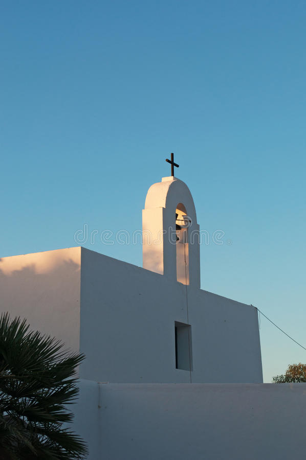 Formentera, Balearic Islands, Spain, Europe, church, Pilar de la Mola, cross stock images