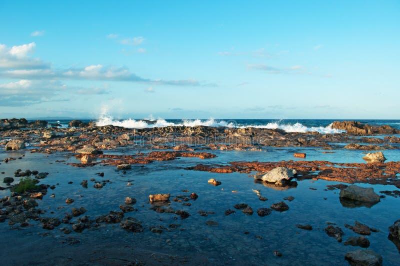 Formentera, Balearic Islands, Spain, Europe, waves, sand, beach, nature, landscape, Mediterranean Sea, summer stock image