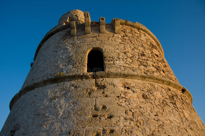 Download Formentera Old Defense Tower Stock Photo - Image: 10308420