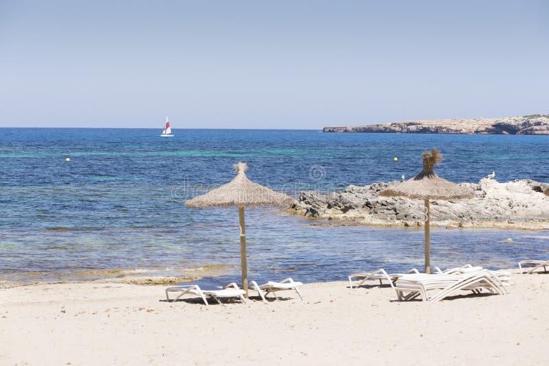 Formentera, S Pujol royalty-vrije stock afbeelding