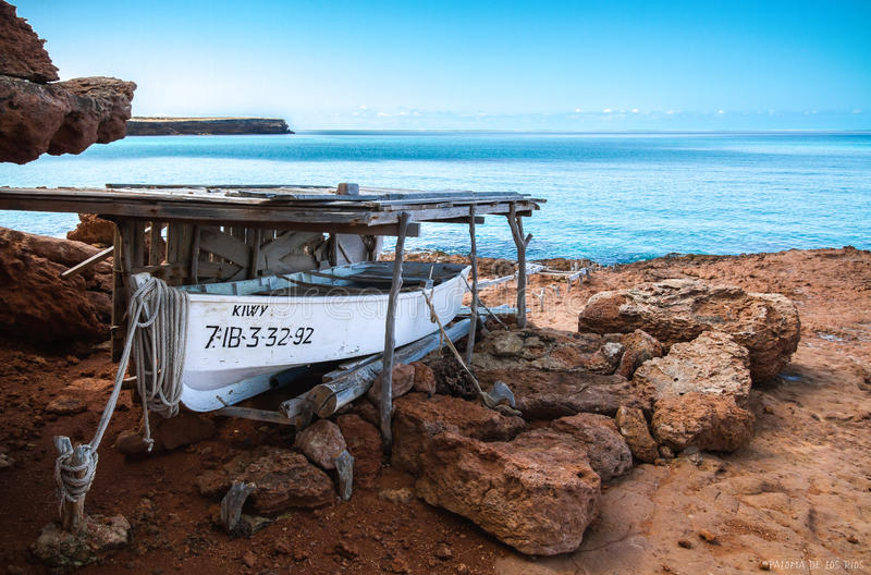Formentera, Spain stock images