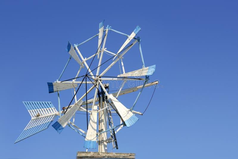 formentera wiatr wyspy mleją starego wiatr obraz stock