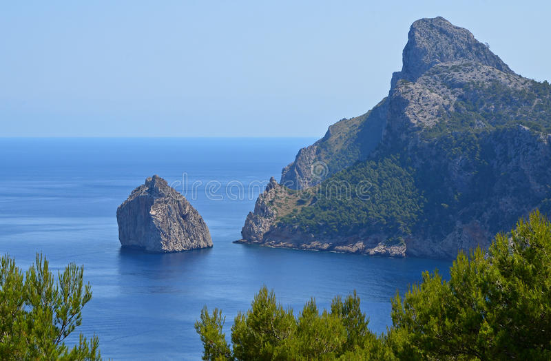 Download Formentor stock image. Image of famous, view, mallorca - 25937907