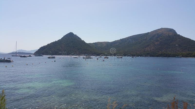 Formentor Mallorca lata widoku ocean fotografia royalty free