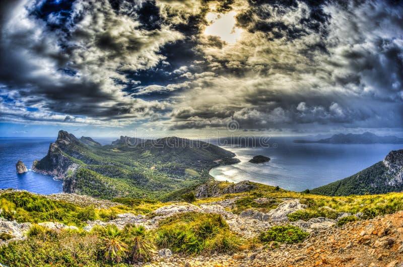 Formentor in Palma de Mallorca royalty-vrije stock foto's