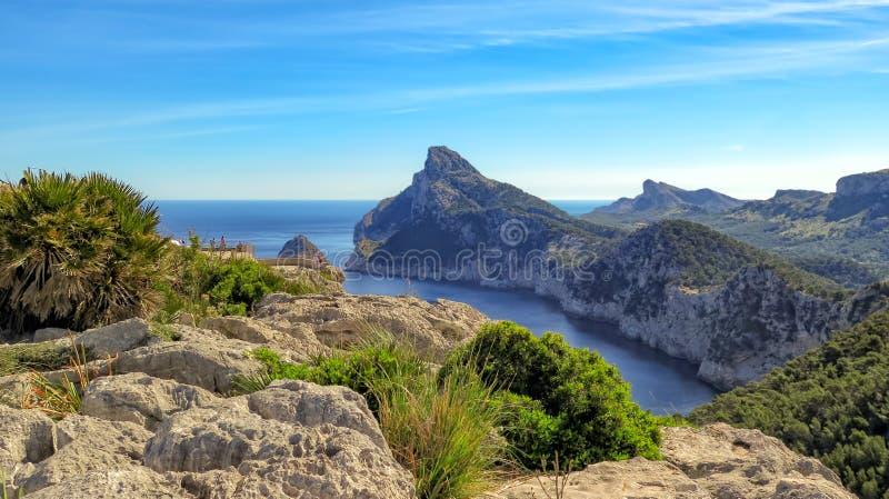 Formentorschiereiland, Mallorca royalty-vrije stock afbeeldingen