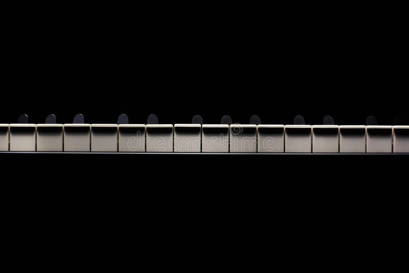 Former av pianotangenter arkivbild