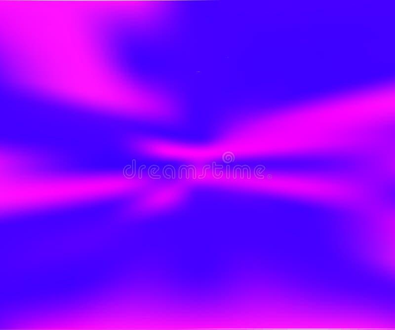 Former för vätskelutning på blå bakgrund vektor illustrationer