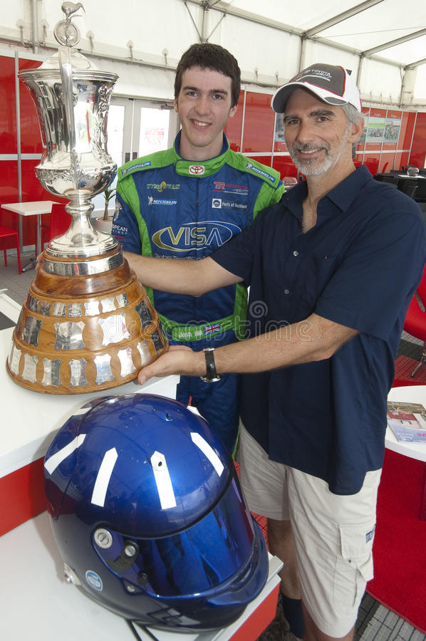 Former F1 World Champion Damon Hill stock photography