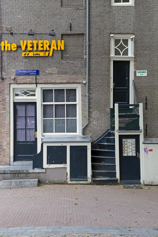 Former Jewish house at Herengracht 561, Amsterdam. Netherlands royalty free stock photography