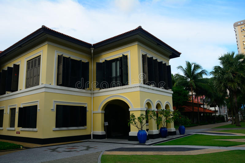 Former palace of Johor Sultan, Singapore royalty free stock photography