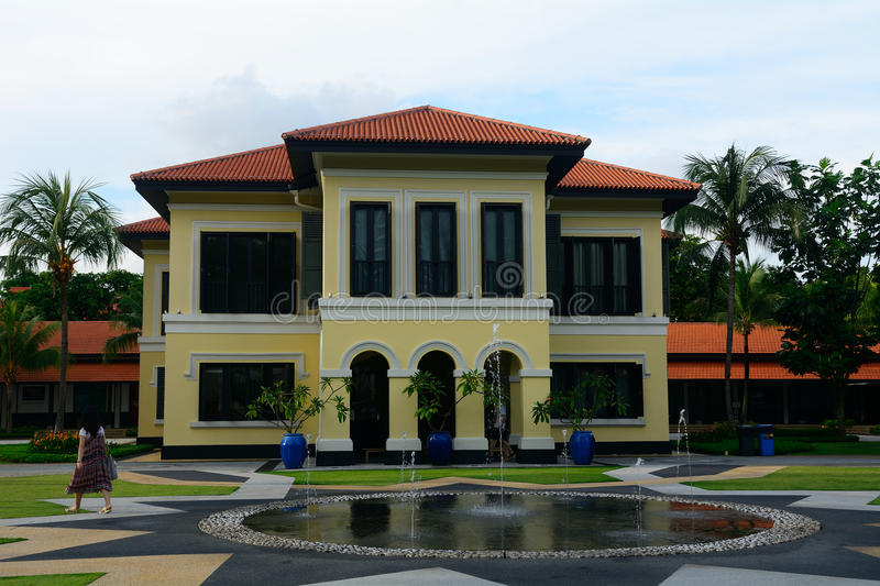Former palace of Johor Sultan, Singapore royalty free stock images