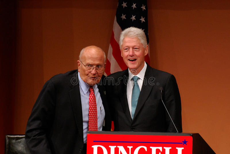 Download Former President Bill Clinton And John Dingell Editorial Stock Photo - Image: 16643543
