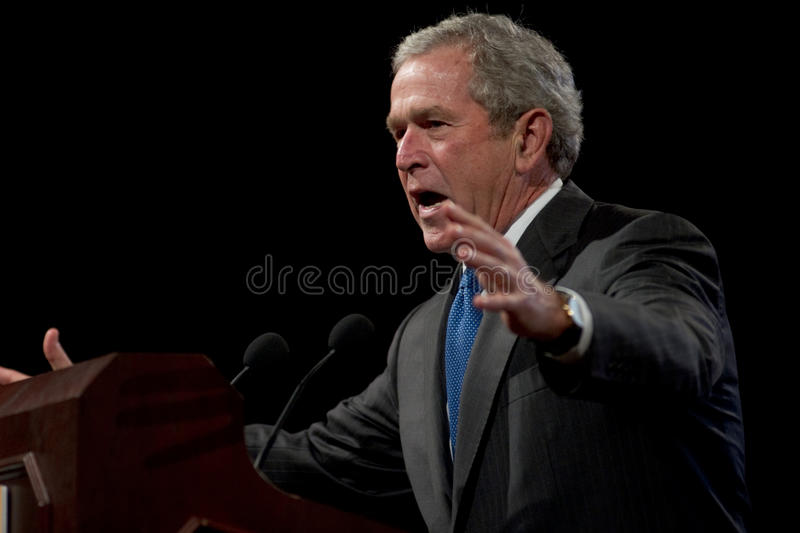 Download Former President George W. Bush Editorial Image - Image of phoenix, horizontal: 35981655