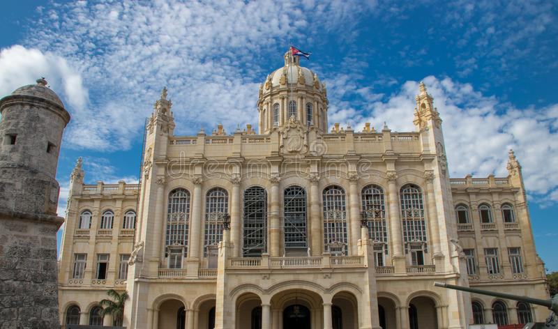 Former Presidential Palace in Havana, Cuba. Former Presidential Palace, now a museum, in Havana, Cuba royalty free stock photography