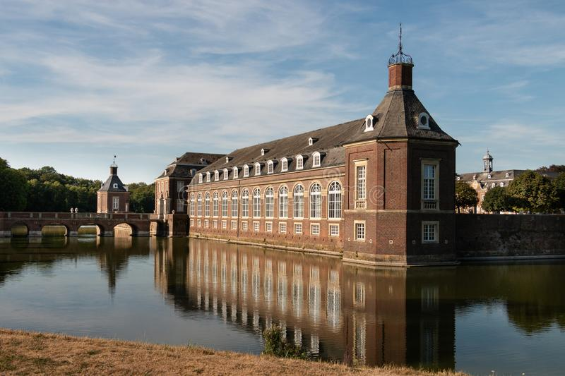 Former stables of Castle Nordkirchen near Muenster, Germany stock images