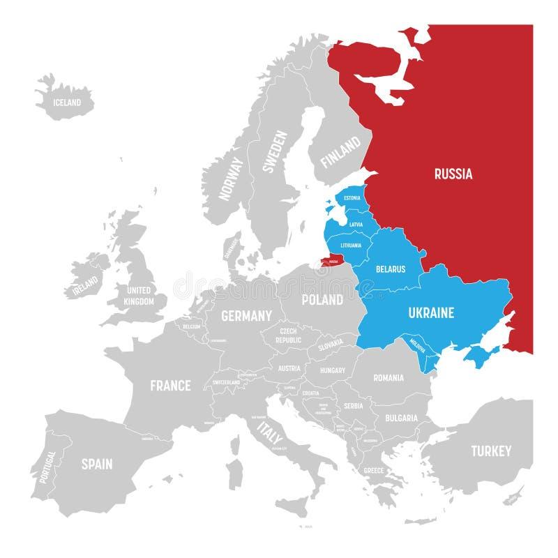 Former Union Of Soviet Socialist Republics USSR Russia Ukraine