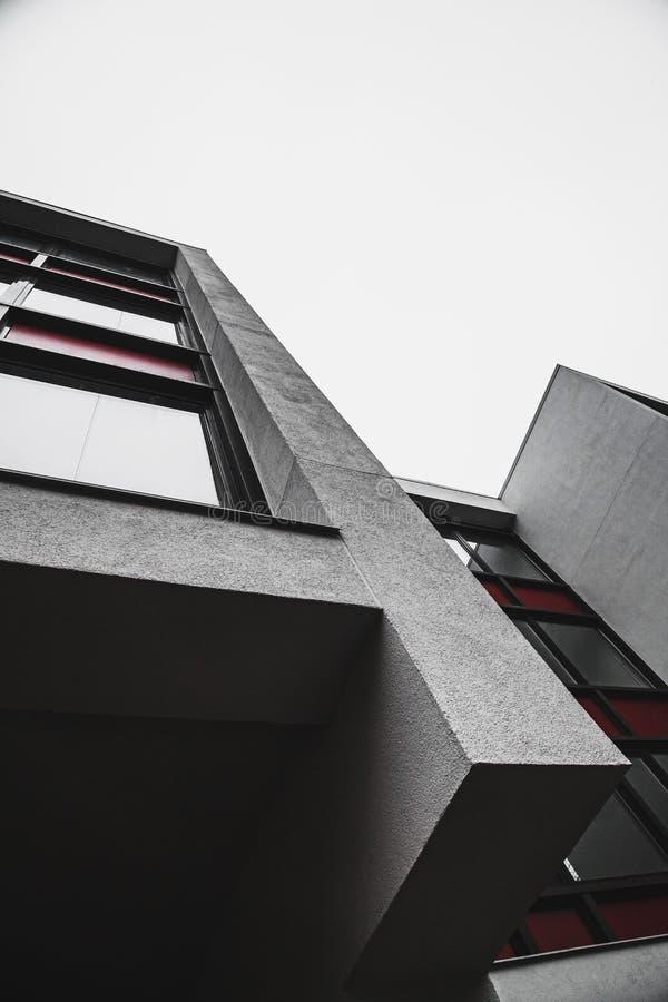 Formes abstraites simples de bâtiment minimalistic image libre de droits