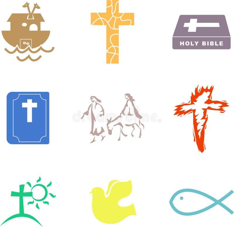 Formes chrétiennes illustration libre de droits