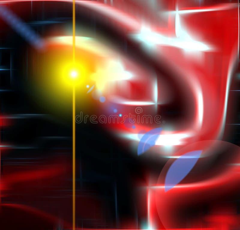 Formes débordantes abstraites, fond photo libre de droits