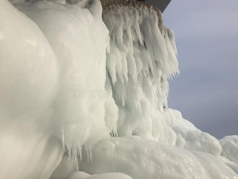 Formes de glace photos libres de droits