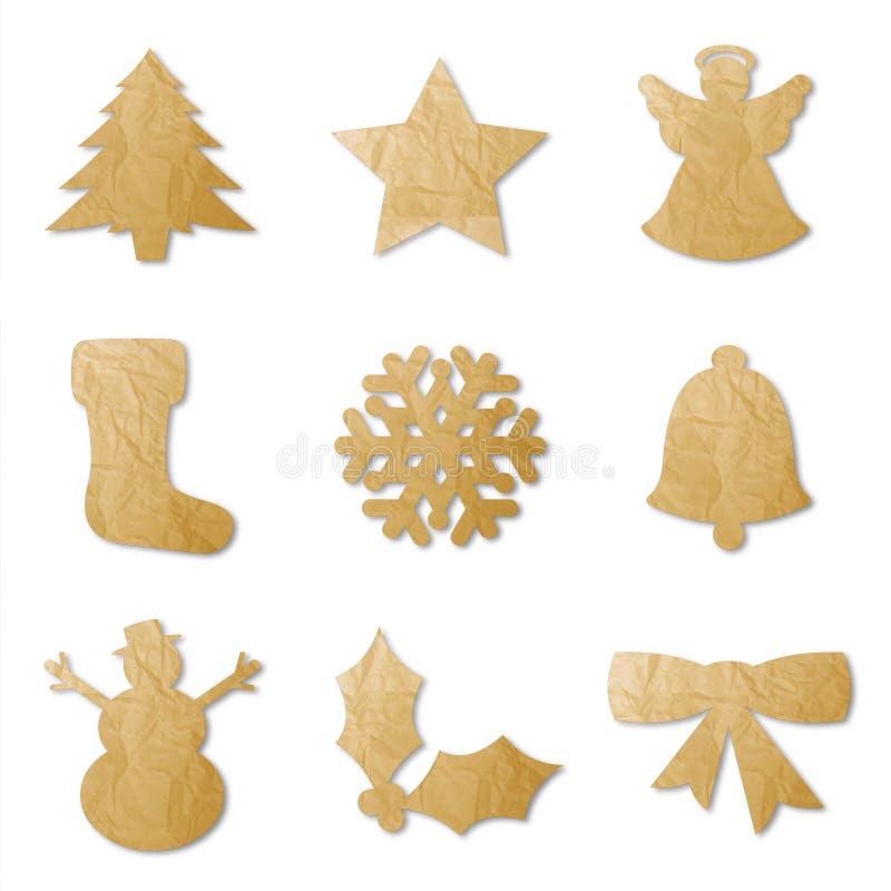 Formes de Noël illustration de vecteur
