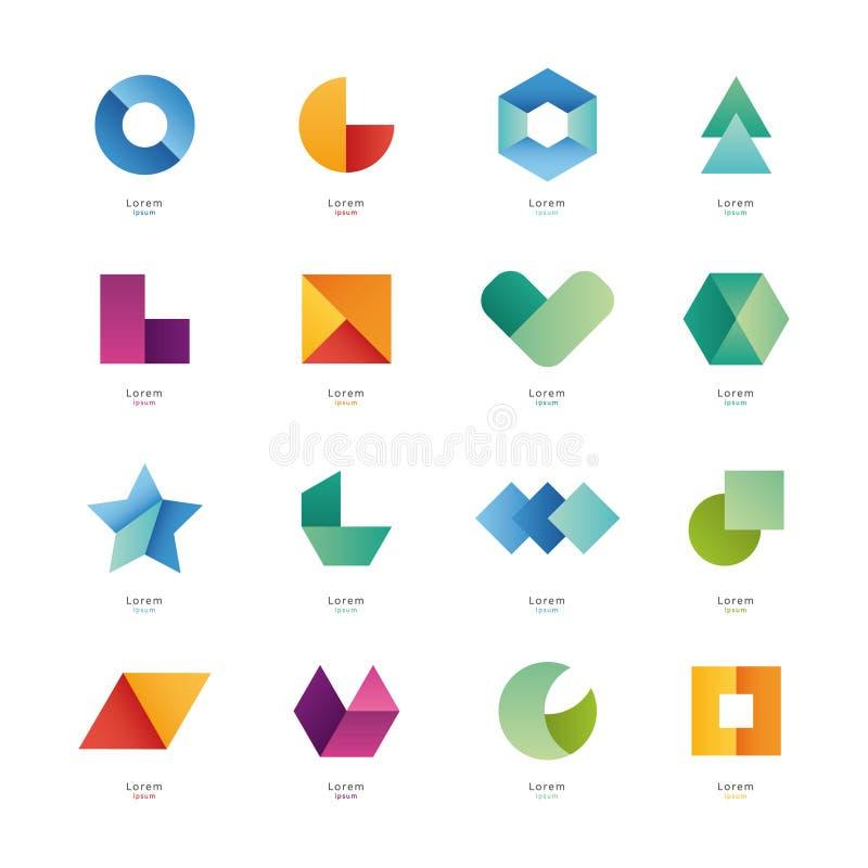 Célèbre Formes Géométriques Simples Illustration Stock - Image: 47441514 DT82
