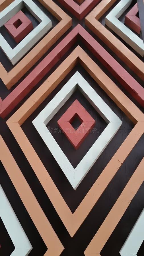 Formes géométriques polynésiennes image stock