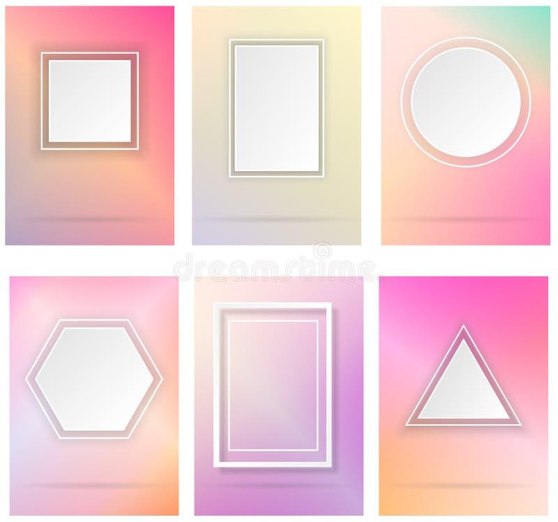 Formes géométriques simples illustration de vecteur