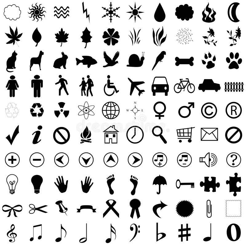 formes mélangées illustration libre de droits
