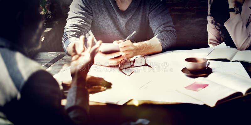 Formgivare för inre för affärsarkitektur Meeting Concept arkivfoton