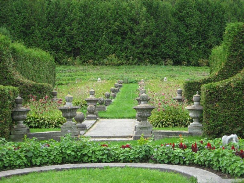 Formgivare Garden royaltyfri foto