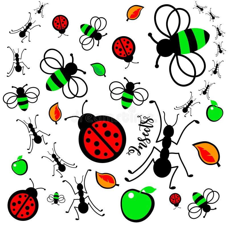 formiche illustrazione di stock