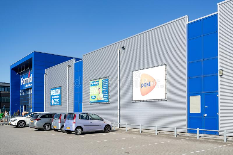 Formido store in Vierspolders, Netherlands. Formido is a Dutch hardware store-chain and a part of the of the franchise-organisation Maxeda stock photos