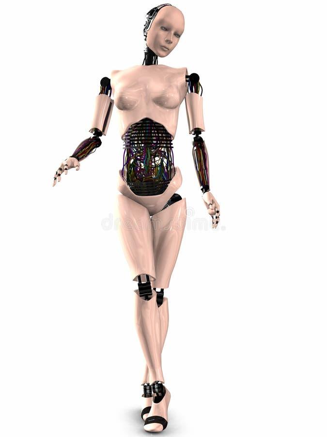formie sherobot 3 d royalty ilustracja