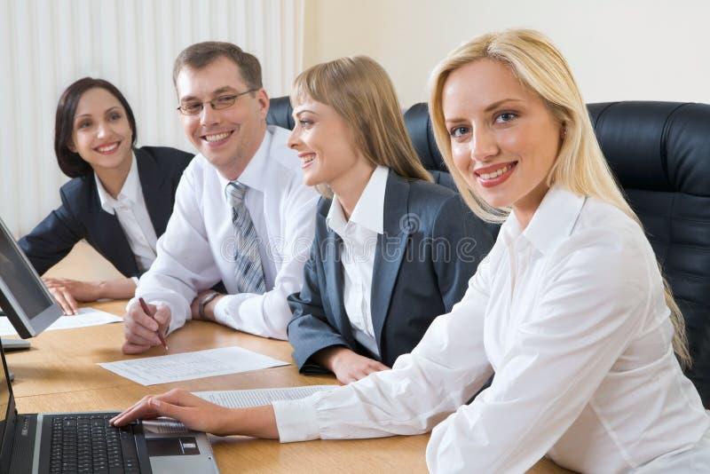 Formlose Sitzung stockfoto