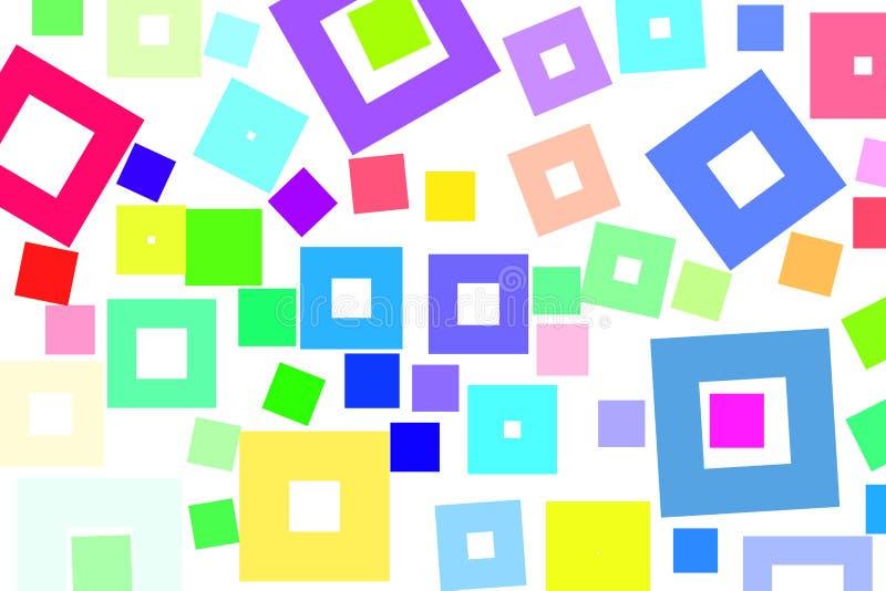 Formmusterhintergrund, für Grafikdesign stock abbildung
