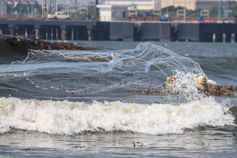 Formnetzfischen stockfotografie