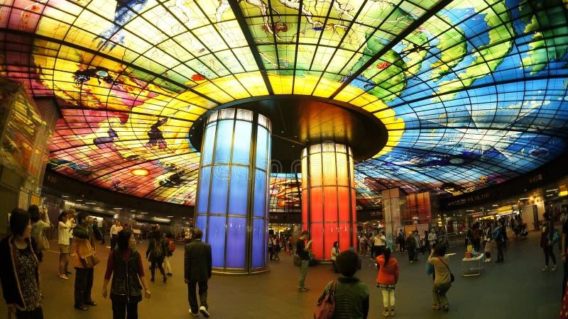 Formosa Boulevard royalty free stock images