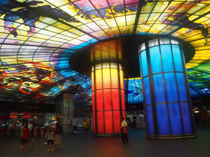 Formosa Metro Station royalty free stock images