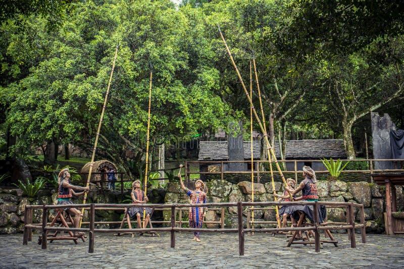 Formosan Tubylcza kultury wioska obraz royalty free