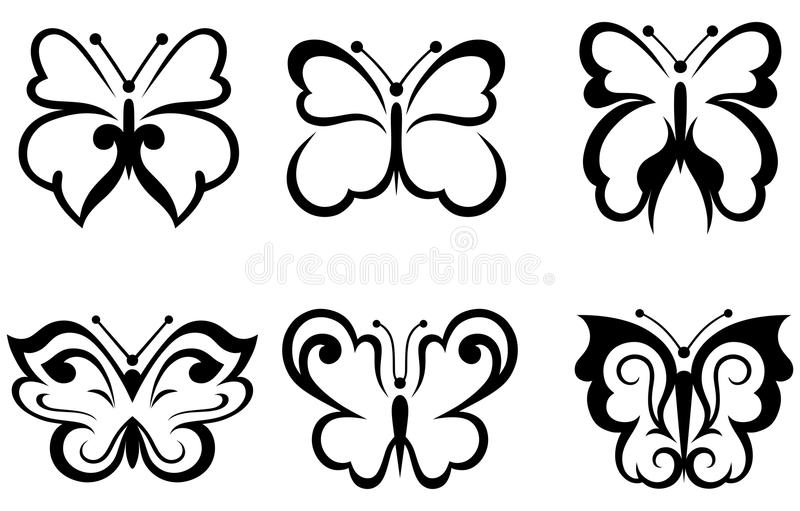 Download Forms butterflies stock vector. Image of illustration - 25570934