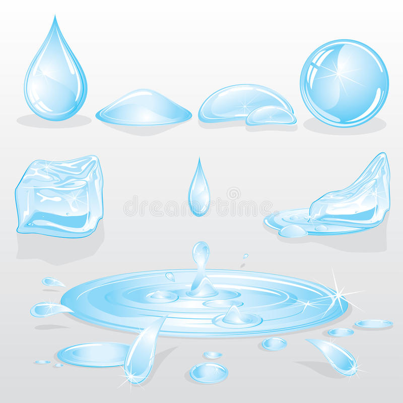 Download Forms of Water stock vector. Illustration of natural - 22008693