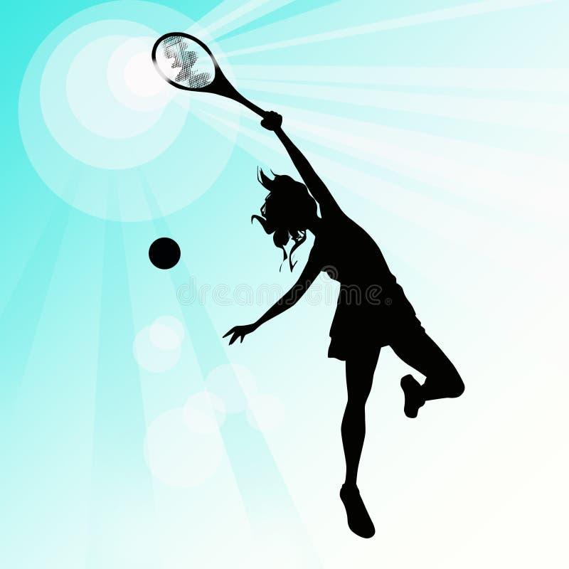 formsportswoman stock illustrationer