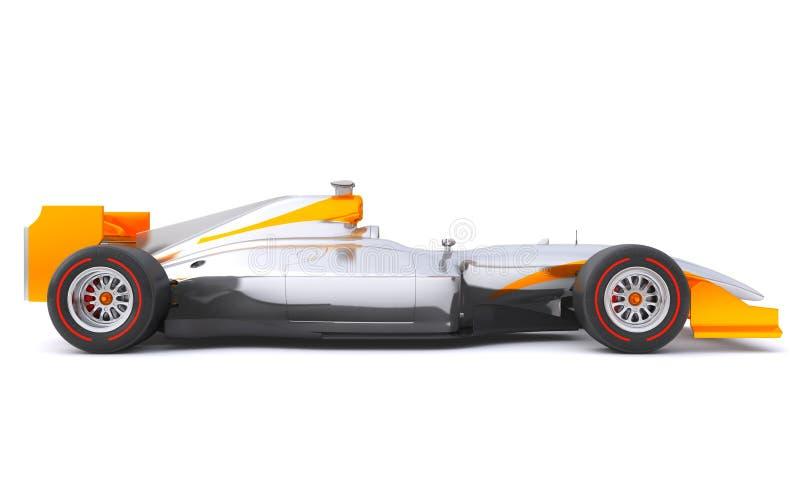 Formuła biegowy rodzajowy samochód ilustracja wektor