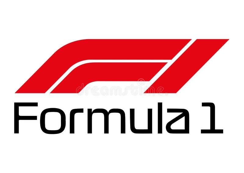 Formuły 1 logo ilustracji