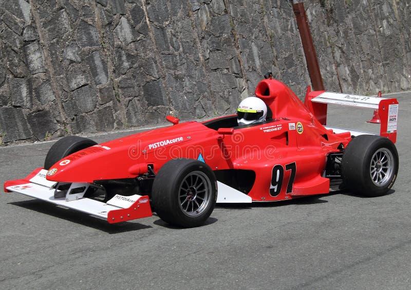 Formuły Trzy bieżny samochód obrazy stock