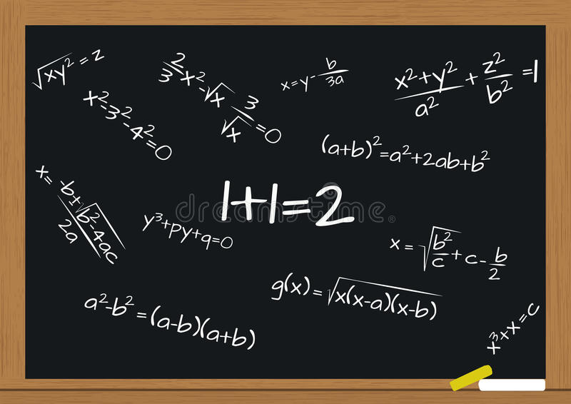 Download Formuły matematyka ilustracja wektor. Ilustracja złożonej z biznes - 28957734