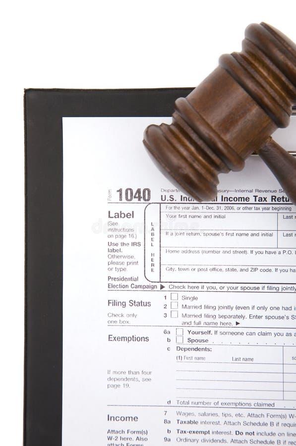 formulário de imposto 1040 imagens de stock royalty free